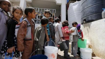 Unicef alerta de hambruna que amenaza a niños yemeníes por COVID-19