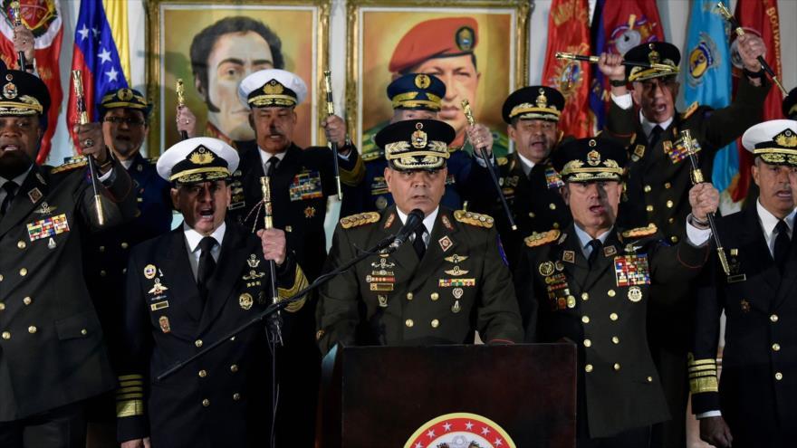 FANB defenderá soberanía de Venezuela ante agresiones de EEUU