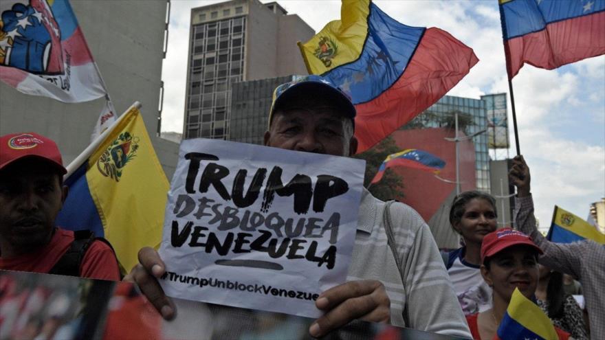 Las sanciones de EEUU son el principal desafío de Venezuela   HISPANTV