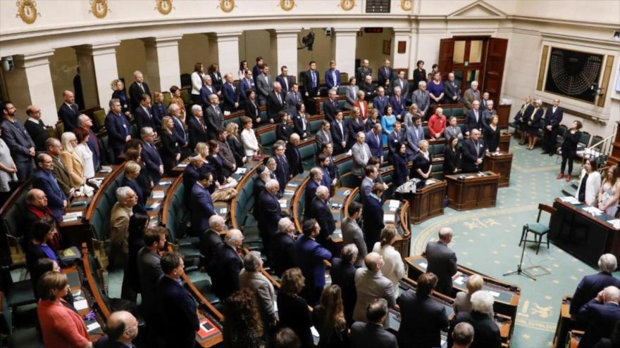 Una sesión del Parlamento de Bélgica.
