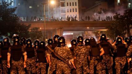 Beirut detiene a 40 saboteadores que buscaban provocar el caos