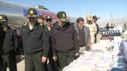 Irán, el mejor actor global en lucha antidrogas, pese a sanciones
