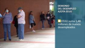 PoliMedios: Demonio del desempleo azota EEUU