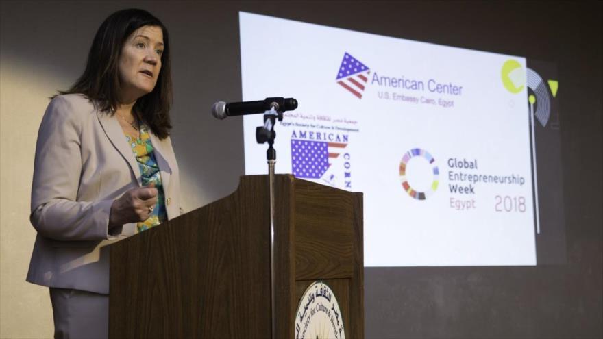 La embajadora estadounidense en Beirut, la capital libanesa, Dorothy Shea.