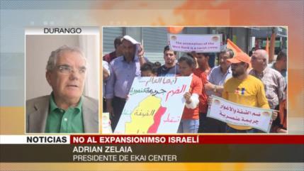 Zelaia: Israel usa su influencia en EEUU para anexarse Cisjordania