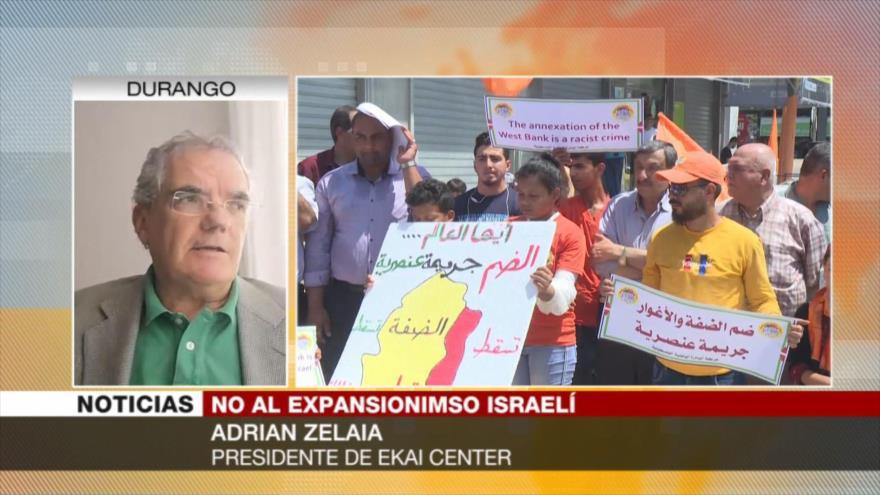 Zelaia: Israel usa su influencia en EEUU para anexarse Cisjordania | HISPANTV
