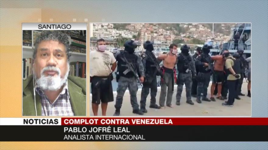 Jofré Leal: Guaidó es una figura gastada y títere sin importancia   HISPANTV