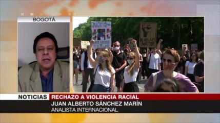 Marín: Protestas en EEUU son por los hechos que no se difunden
