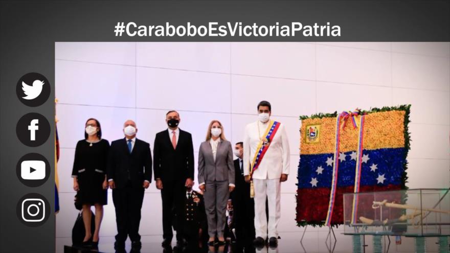 Etiquetaje: Venezuela advierte a EEUU en el aniversario de Batalla de Carabobo
