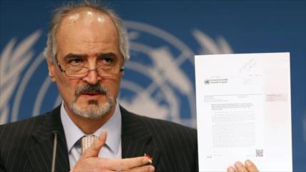 Siria pide a ONU que advierta de efectos de embargos de EEUU
