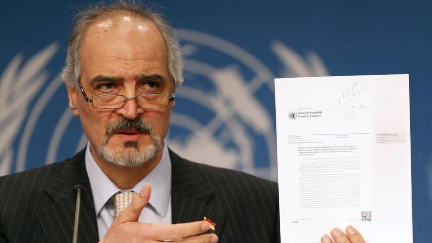 Siria pide a ONU que advierta de efectos de embargos de EEUU   HISPANTV