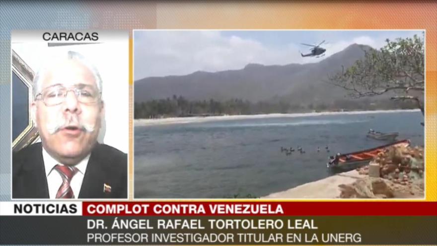"""""""Embajada de España en Caracas es búnker secreto de Leopoldo López"""""""