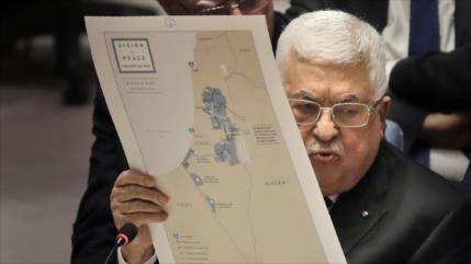 Presidente palestino rechaza hablar con Pompeo sobre anexión