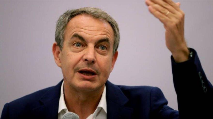 El expresidente del Gobierno español José Luis Rodríguez Zapatero.