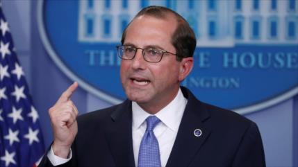 Secretario de Salud de EEUU: No hay tiempo para atajar coronavirus
