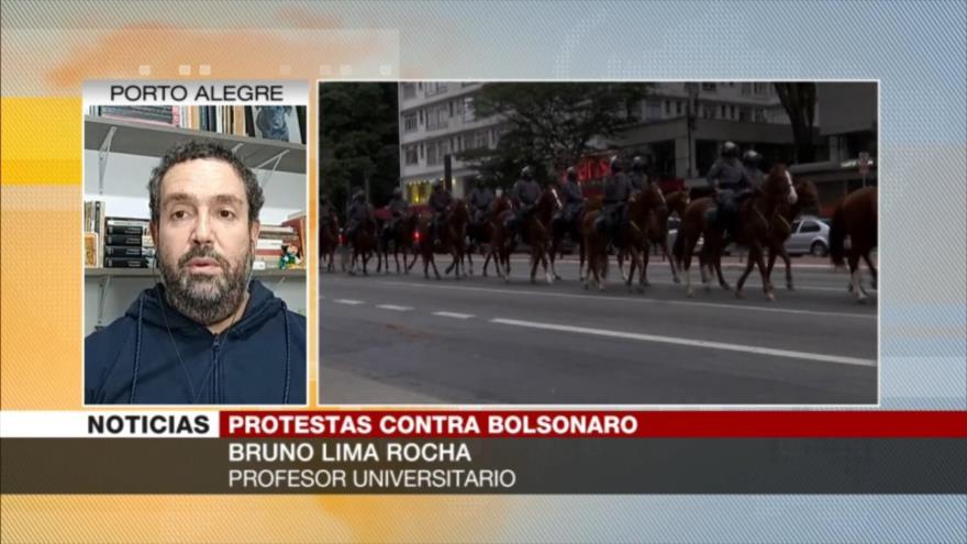 Rocha: Pese a las protestas en Brasil, Bolsonaro no renunciará