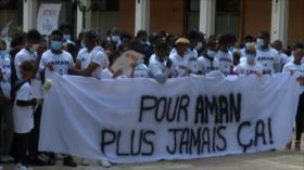 Franceses protestan por muerte de un adolescente en un tiroteo