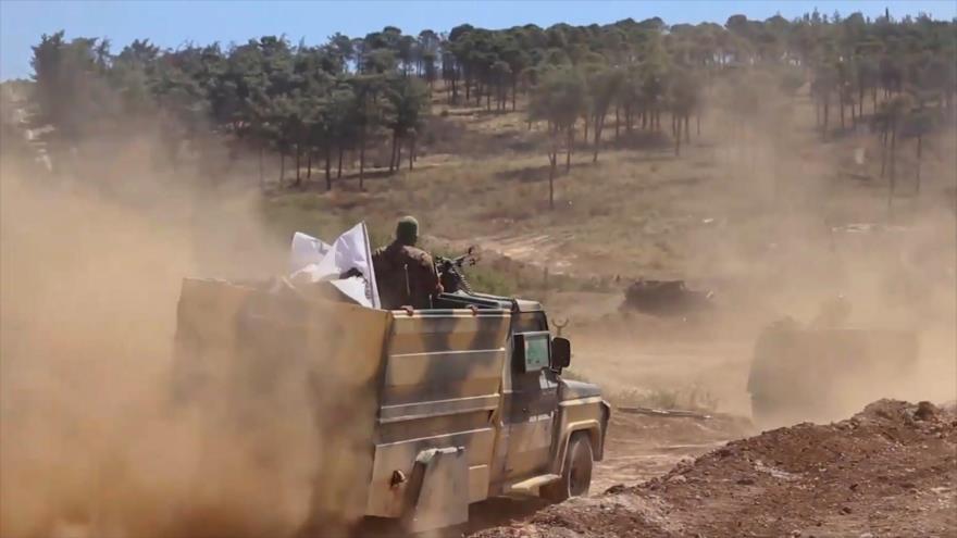 Se desatan duros enfrentamientos entre grupos terroristas en Idlib