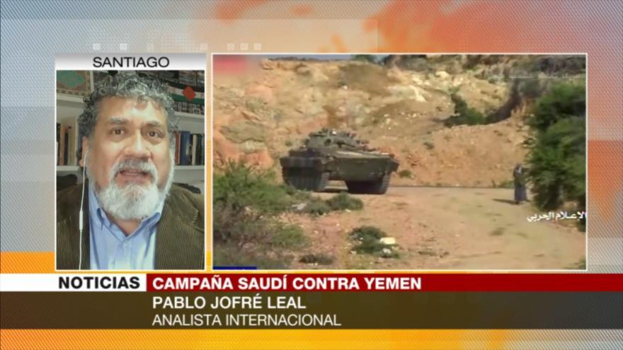 Jofré Leal: Yemen va tomándole el pulso al agresor saudí