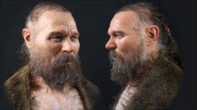 Fotos: Así era el rostro de un hombre de la Edad de Piedra