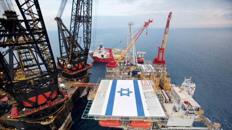 Israel explora gas del campo Tamar, ubicado en el mar Mediterráneo frente a la costa de los territorios ocupados palestinos.