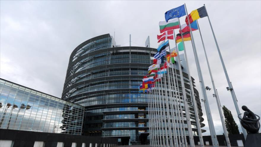 La sede de la Unión Europea (UE) en Bruselas, Bélgica.