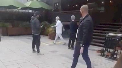 Vídeo: Piñera rompe la cuarentena para comprar vino