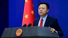 China exige fin del embargo de armas a Irán, desafiando a EEUU