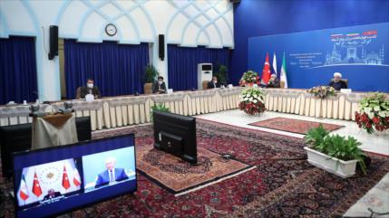 Irán: Pueblo sirio debe decidir su futuro sin injerencia foránea
