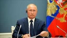 Putin insiste en proceso de Astaná y denuncia sanciones a Siria