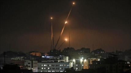 Vídeo: HAMAS lanza 20 misiles en advertencia a anexión israelí