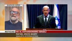 """""""Rechazo global a Israel evitaría robo arbitrario de Cisjordania"""""""