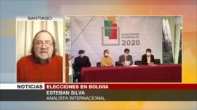 Silva: Áñez busca bajar candidatura de partido de Morales