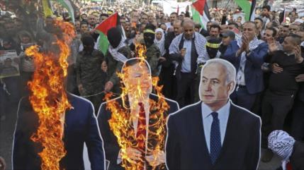 """Irán apoya a Palestina ante la trama del """"acuerdo del siglo"""""""