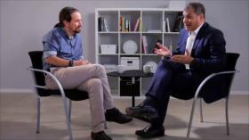 Ecuador rechaza apoyo de Pablo Iglesias a expresidente Correa