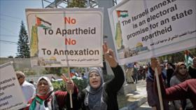 40 mujeres políticas advierten a Israel sobre su plan expansionista