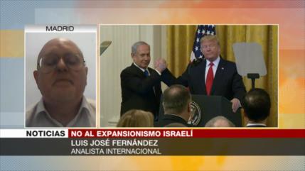 Fernández: Israel y EEUU se han quedado aislados en caso de anexión