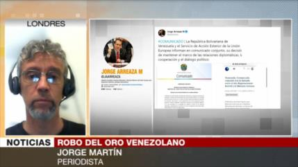 Martín: Londres roba oro de Venezuela a plena luz del día