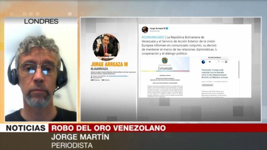 Martín: Londres roba oro de Venezuela a plena luz del día | HISPANTV