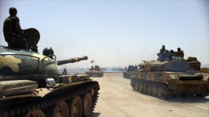Siria se enfrenta a terroristas y tropas proturcas en dos frentes