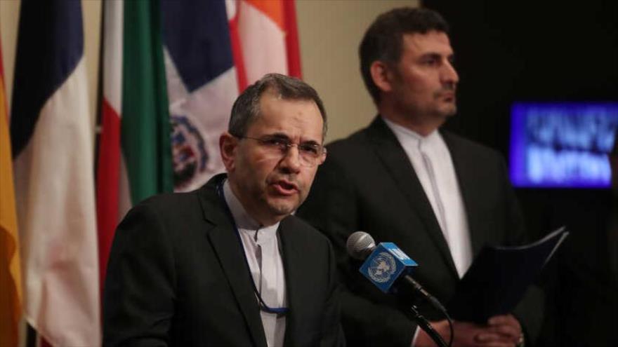 Irán critica que las sanciones entorpecen la lucha contra COVID-19