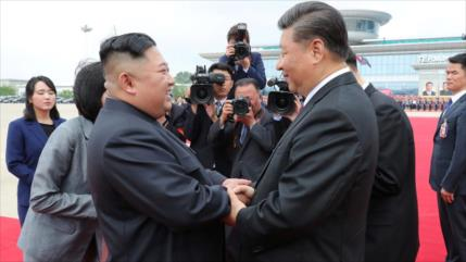 Corea del Norte promete respaldar a China ante agresiones de EEUU