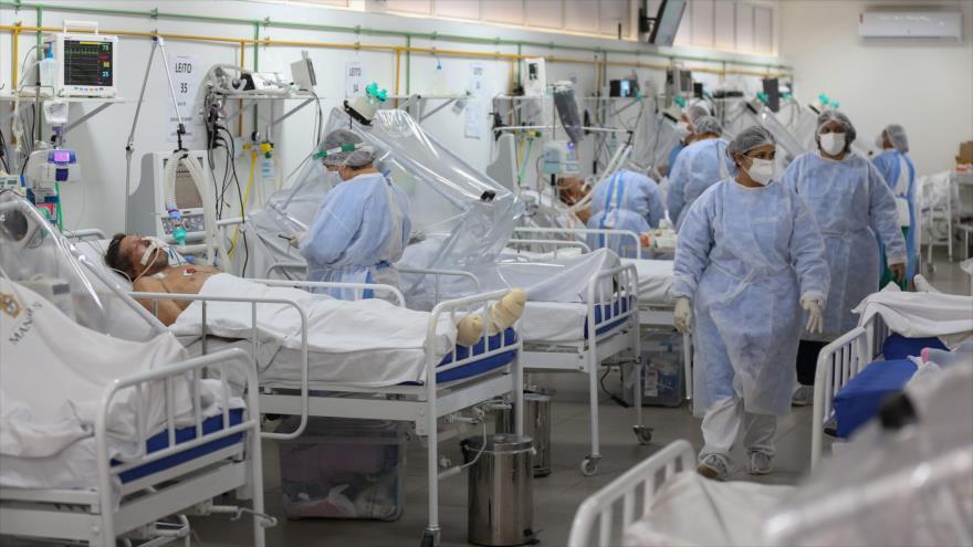 Estudio: Brasil tiene ocho millones de contagiados con COVID-19 | HISPANTV