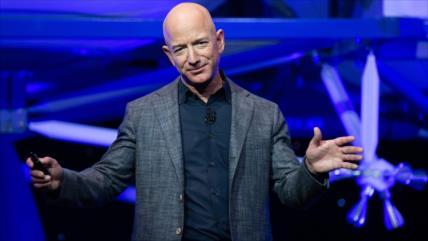Fundador de Amazon, Bezos, alcanza su máxima fortuna histórica