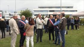 Trabajadores de Air France se manifiestan tras anuncio de recortes