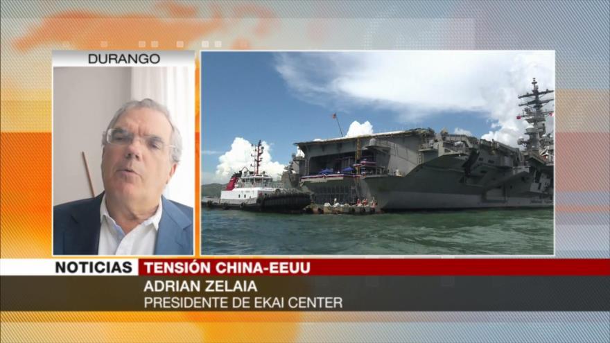 'EEUU muestra músculo a China para devolver su hegemonía perdida'