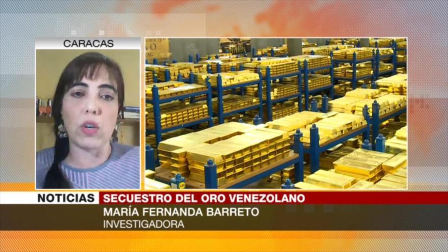 Barreto: Guaidó se presta para legitimar robo de oro venezolano | HISPANTV