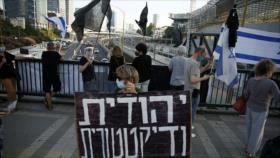 Miles de israelíes protestan para exigir renuncia de Netanyahu