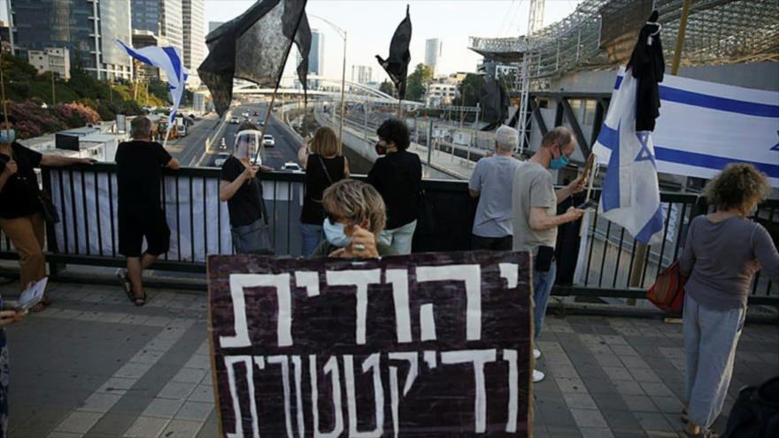 Miles de israelíes protestan para exigir renuncia de Netanyahu | HISPANTV