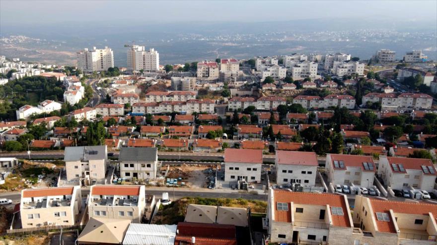 Los asentamientos ilegales de Israel en la Cisjordania ocupada, 1 de julio de 2020. (Foto: AFP)